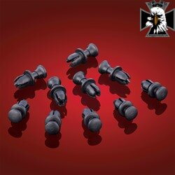 3-104 - REUSABLE PLASTIC RIVETS