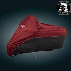 4-472AB - FULL DRESSER COVER CRANBERRY
