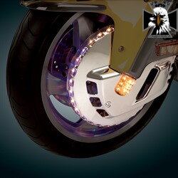 52-624 - LIGHTED FRONT ROTOR TRI COLOR