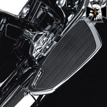 462ec6db1cd09 Platne spolujazdca Highway Hawk SMOOTH pre motocykle YAMAHA XVS950 / A MS a  XVS1300 / A MS (pár) 732-752