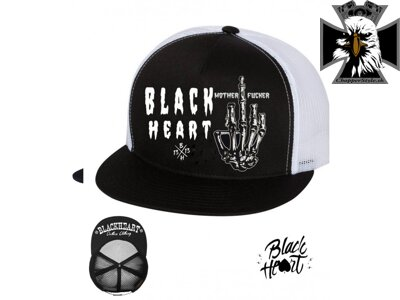 Šiltovka BLACK HEART FUCKER