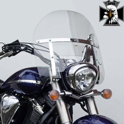 Yamaha Midnight Star 1300. N2273  Chopped Heavy Duty™ Windshield