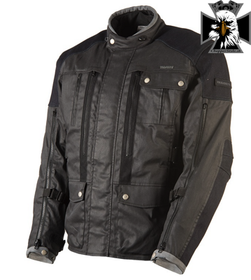 TRILOBITE 1892 RALLY MEN JACKET BLACK