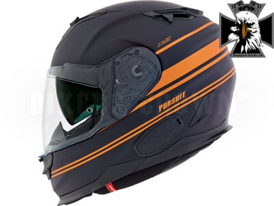 NEXX X.T1 PURSUIT BLACK MT/ORANGE
