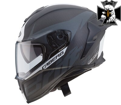 CABERG DRIFT EVO CARBON MATT ANTHRACITE/WHT