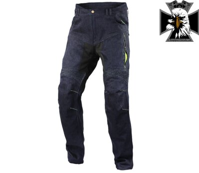 TRILOBITE 1964 DYNEEMIC PRO MEN JEANS LONG DARK BLUE/FLUO
