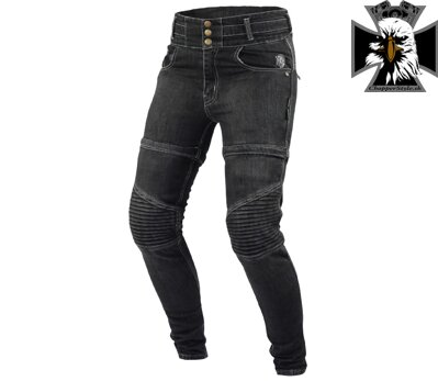 TRILOBITE 1967 ZIPSY LADIES JEANS BLACK