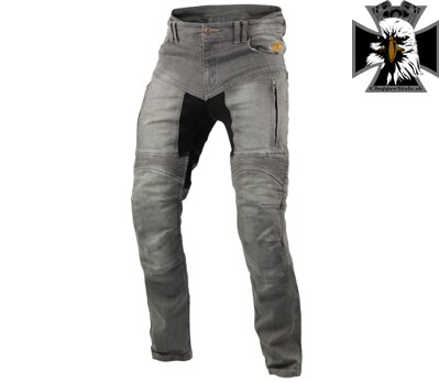 TRILOBITE 661 PARADO TÜV CE MEN JEANS LONG LIGHT GREY