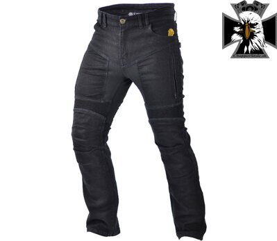 TRILOBITE 661 PARADO TÜV CE MEN JEANS LONG BLACK