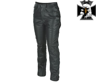 NAZRAN JEANS CHOPPER - BLACK