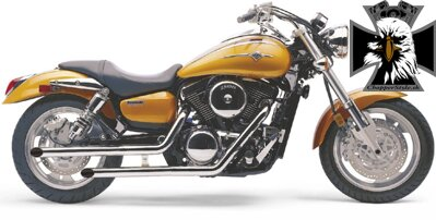 Drag Pipes - Vulcan 1600 Mean Streak (04-08) / 4269