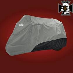 4-465CB - TRIKE COVER CHARCOAL / BLACK