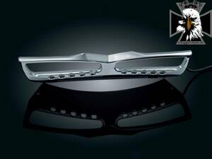 CHROME GRILL for GL1800 7328-Kuryakyn