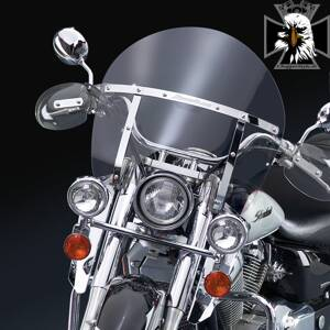 Kawasaki VN 900 Custom. N21435  SwitchBlade® Chopped™ Clear Windshield