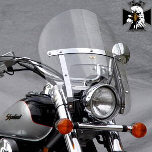 Kawasaki VN 900 Classic. N2221  Low Boy Heavy Duty™ Windshield