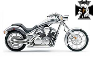 1233CO Cobra výfuk Honda VT1300CX Fury (10-12) Speedster Swept - Chrom