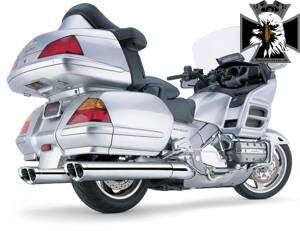 1214CO-Cobra výfuk Honda GL 1800 (01-12)Tri-Oval Slip-on Mufflers